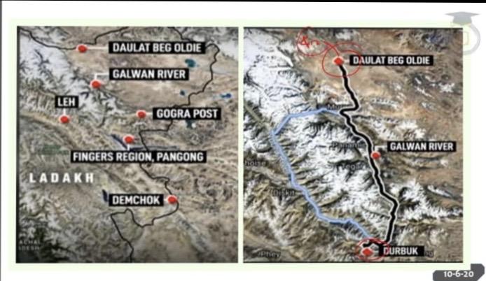 भारतीय सेना ने लद्दाख सीमा पर चीनी अतिक्रमण को नाकाम किया