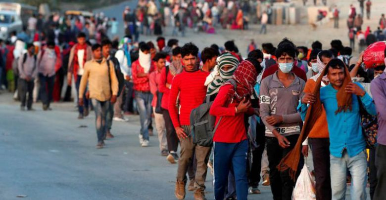 Adieu 2020 welcome 2021,migrant labour