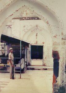 विवादित राम जन्म भूमि बनाम बाबरी मस्जिद का चित्र