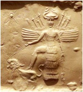 Goddess of Love Inana