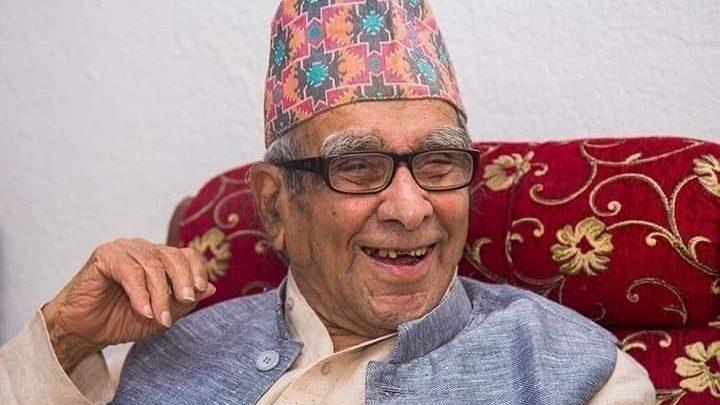 Nepali poet Madhav Prasad Ghimire