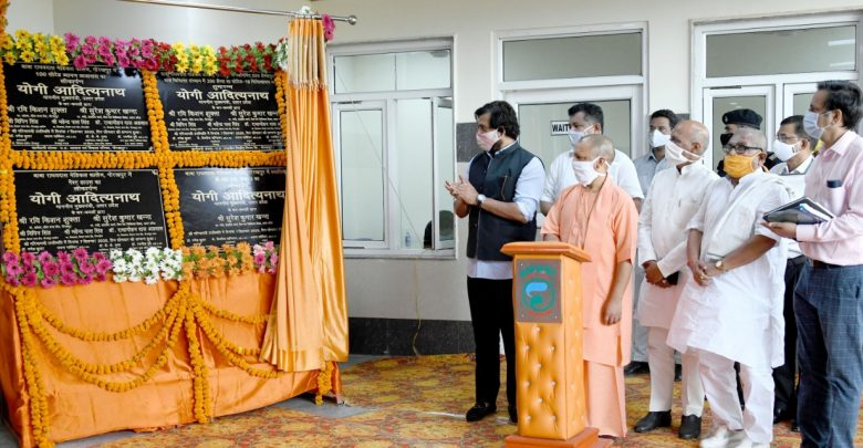 गोरखपुर मेडिकल कालेज में नए अस्पताल का लोकार्पण