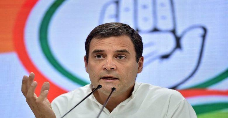 राहुल गांधी ने पीएम पर लगाये गंभीर आरोप