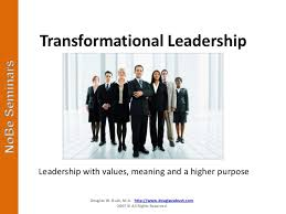 Photo of Transformational Leadership; Need of the hour