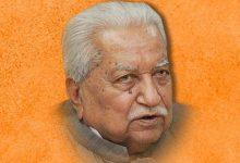 Photo of गुजरात के पूर्व सीएम केशुभाई का 92 वर्ष की उम्र में निधन
