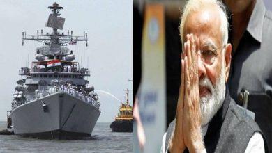 Photo of भारतीय नौसेना दिवस पर पीएम मोदी ने दी बधाई