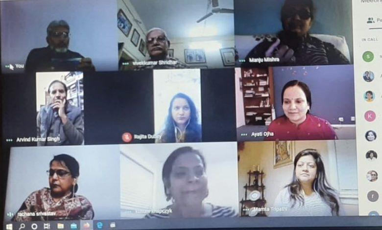 आचार्य महावीर प्रसाद द्विवेदी स्मृति समिति की बैठक