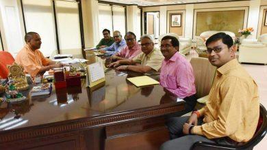 Photo of मुख्यमंत्री योगी का तहरी भोज
