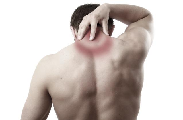 Neck pain or spondylitis